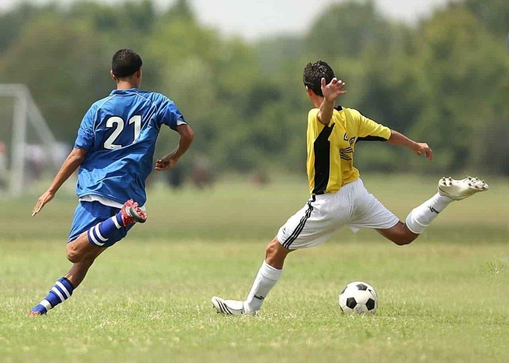 サッカーにおけるダブル・ゴール・コーチング